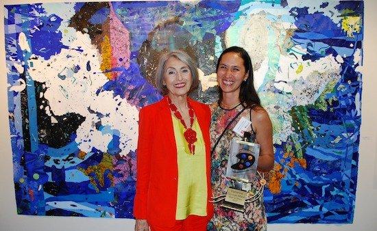 "Katherine Tzu-Lan Mann Awarded Bethesda Painting Award ""Best in Show"""