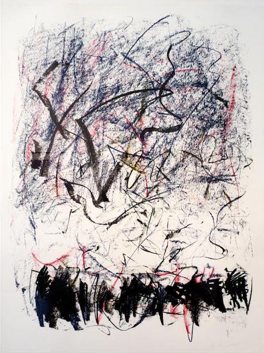 Joan Mitchell, Bedford, 1981, Lithograph, Sheet Size: 42 x 31 1/2 inches. Courtesy of gallery neptune & brown.