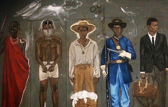 Black Whiskey Bar with Black Market Art Present Stephen Whiteside and Joel Innovinci Concrete Oppressionism