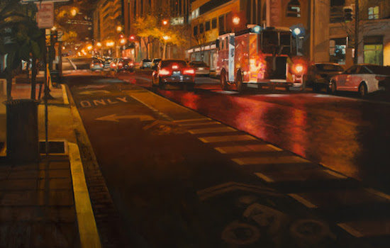 Susan Calloway Fine Arts Presents Contemporary Urban Life Group Exhibition