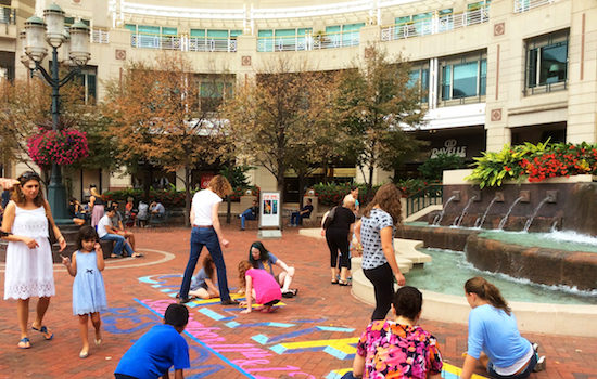 Public Art Reston will Host a Free Chalk Workshop