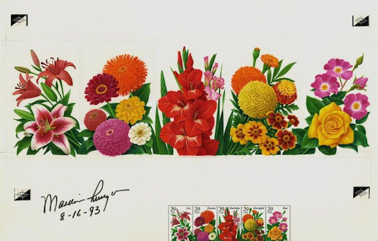 National Postal Museum Presents Beautiful Blooms: Flowering Plants on Stamps