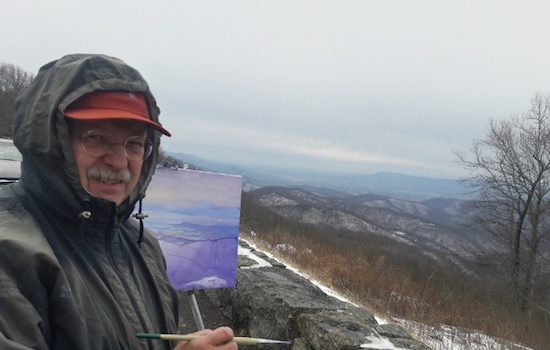 American Painting Fine Art Presents Andrei Kushnir Blue Ridge Paintings New Plein Air Works