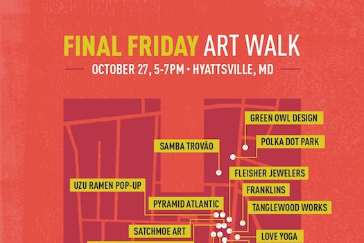 October 2017 Hyattsville Final Friday Art Walk