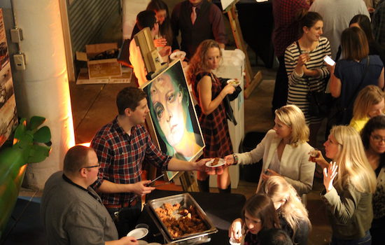 The Art League Gallery Hosts Art, Beer, and Food at Art on Tap