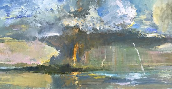 Yellow Barn Studio at Glen Echo Park Presents Walt Bartman Paintings of the Sea