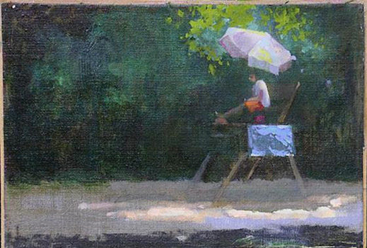 Athenaeum Gallery Presents The Washington Society of Landscape Painters The Artist's Process