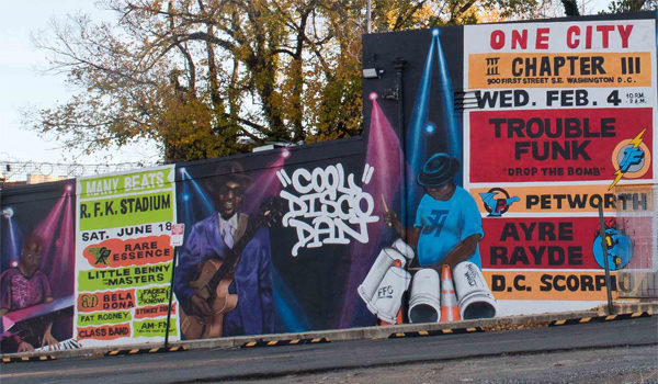 Anacostia Mural Many Voices, Many Beats, One City Memorializes Titans of Go-Go