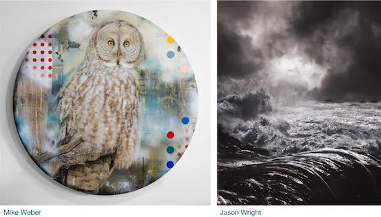 Long View Gallery Presents Jason Wright and Mike Weber The Nature of Imagination