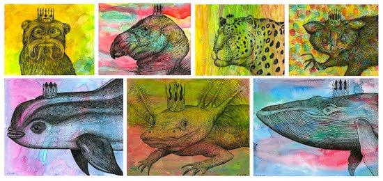 Joan Hisaoka Healing Arts Gallery Presents Stephen Loya Endangered Kingdom