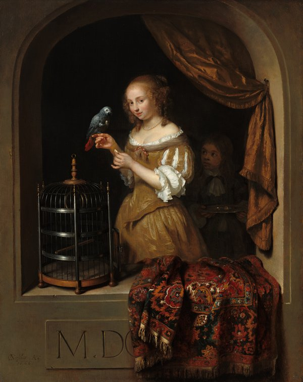 Reflections on Vermeer and the Masters of Genre Painting at the