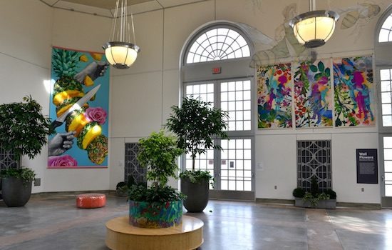 The US Botanic Garden Presents Wall Flowers: Botanic Murals