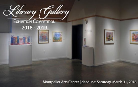 Montpelier Arts Center's Library Gallery Competition 2018