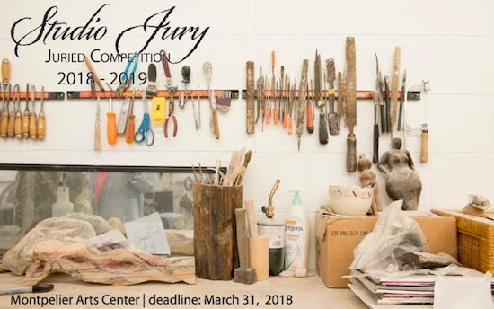 Montpelier Arts Center's Annual Studio Jury Competition 2018