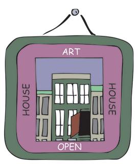 art house open house on East City Art