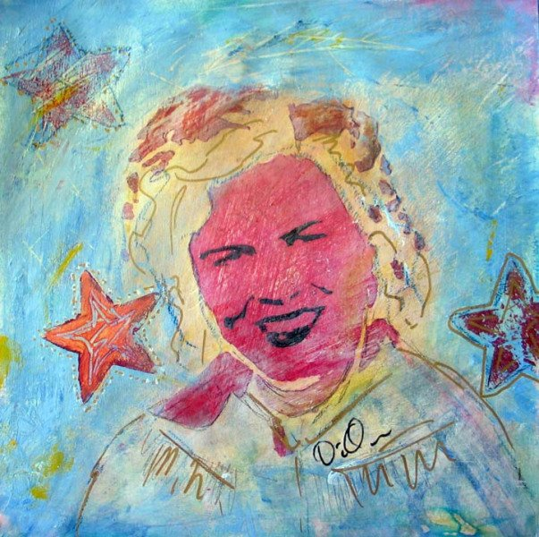 Diana Quinn Bubble Painting Corner Store Art on East City Art