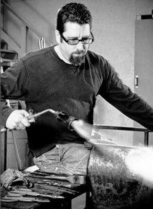 Hot Glass Sculptor Dave D'Orio