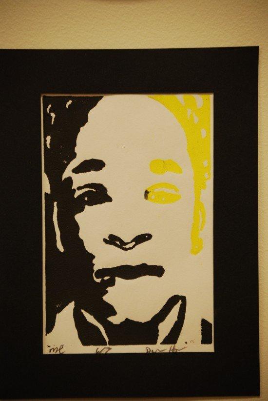 Self portraits hang in Anacostia's main office