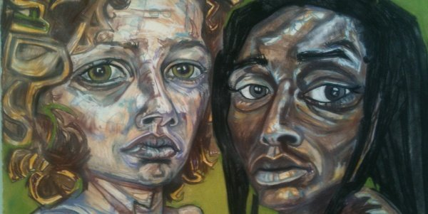 East City Art Reviews:  Lisa Marie Thalhammer's Intimate Network at The Fridge