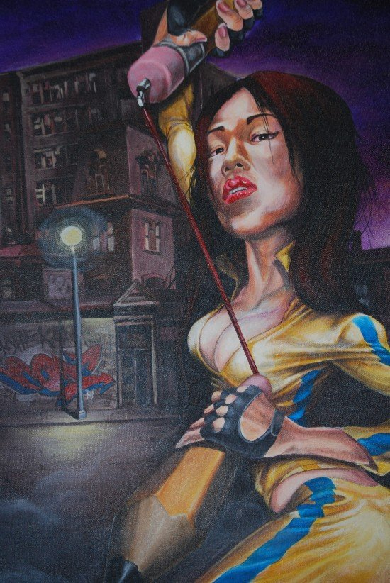 """Aniekan Udofio's """" Reloaded"""" series. Photo by Sayyah George for East City Art."""