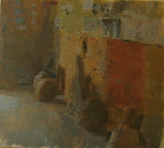 Guemene sur Scorff by Neil Riely. Photo courtesy of 39th Street Gallery