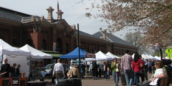 Eastern Market. Photo by Zofie Lang for East City Art.
