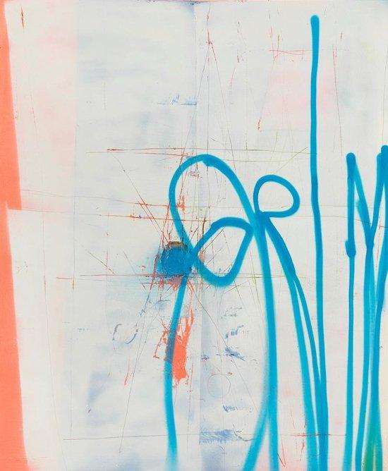 "Oblivion, 2012 by Michael Bevilacqua   48x40"" Acrylic on Linen. Photo courtesy of RandallScottProjects."