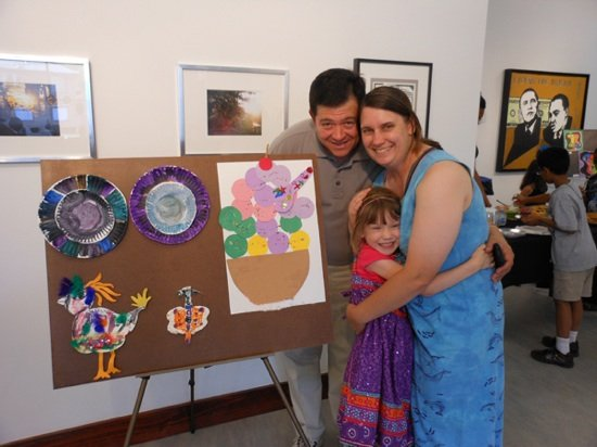 Creative Expressions Summer Exhibition 2012. Photo courtesy of the Brentwood Arts. Exchange