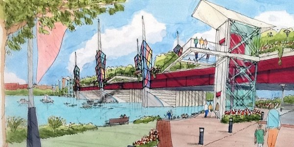 11th Street Arts and Recreation Bridge Presentation at THEARC