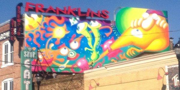 "Franklin Brewery Commissions ""After Dark, Hyattsville"" Mural by Liz Manicatide"