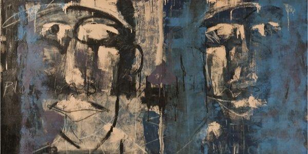 "Duly Noted Painters: Matt Malone & Kurtis Ceppetelli present ""Conversations"" at Selman Gallery"