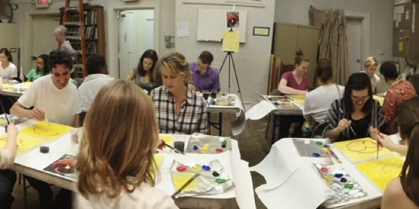CHAW ARTnights Sip and Paint