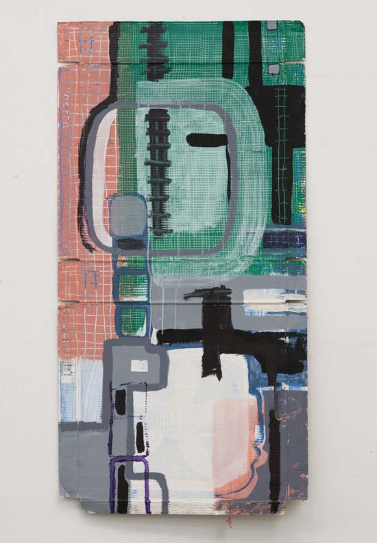 Jay Hendrick, Precise Doubt, 2012, acrylic on cardboard. Photo courtesy of the artist.