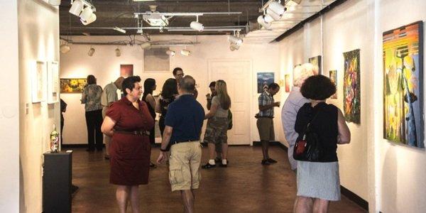 Ward 5 Artist Talk at Off-Rhode Studio at Art Enables Gallery