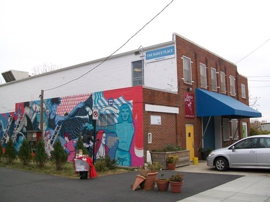 Mural by Cita Sadell. Photo courtesy of Dance Place.