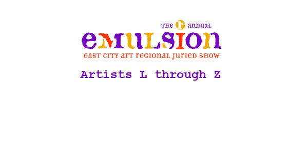 EMULSION Artists L-Z (part 2 of 2)