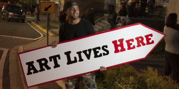 "Art Lives Here – Transforming Neighborhoods One ""Arts Intervention"" at a Time"
