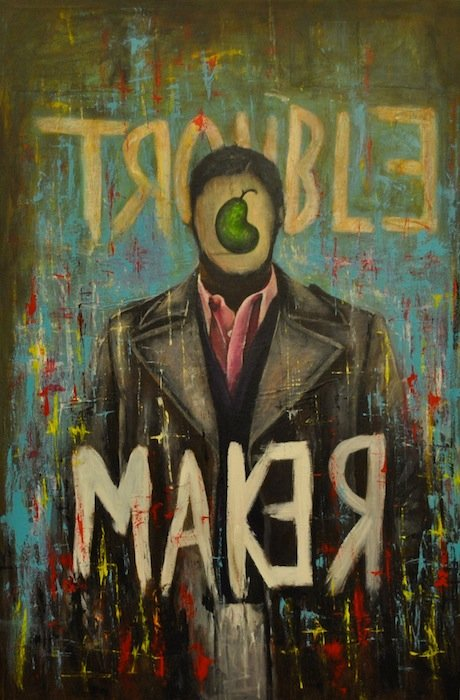 Trouble Maker No. 1 by Luis Peralta. Courtesy of the artist.
