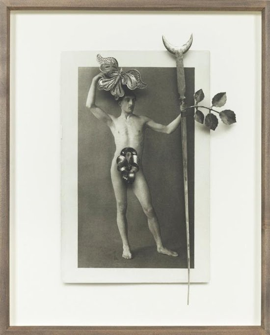 Phillip, Portrait of a Faerie Man 2010, silver gelatin print. Photo courtesy of 39th Street Gallery.