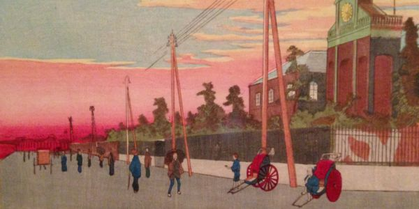 East City Art Reviews:  Kiyochika: Master of the Night at the Sackler Gallery