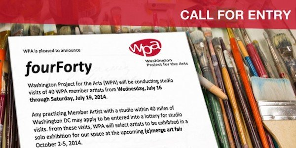 WPA Call for Entry—Four Forty Studio Tour