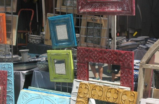 Items sold at the Flea Market at Eastern Market, photo courtesy of Diverse Markets Management.
