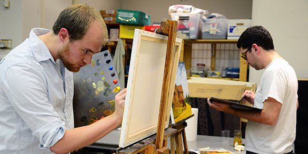 CHAW Hosts Paint and Sip