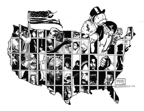 Political Prisoners by Kevin 'Rashid' Johnson. Courtesy of 2B Studios.