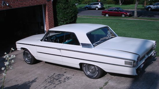 1963 Galaxie with side trim by Tom Kenyon. Photo courtesy of the artist.
