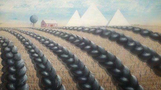 Worky by Malik Lloyd. Photo courtesy of Honfleur Gallery.