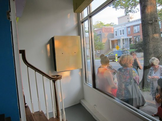 Opening at CONNERSMITH Gallery of Academy 2014 show. Photo by Wade Carey for East City Art.