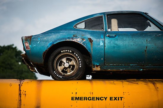 Emergency Exit by Pete McCutchen. Photo courtesy of Touchstone Gallery.