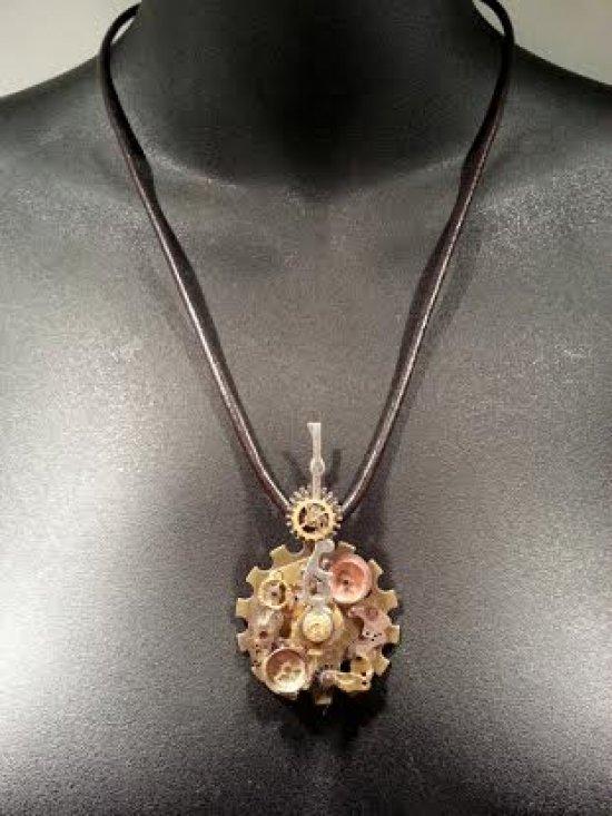 Pandora's Atlas necklace by Chad M. Hemmert.