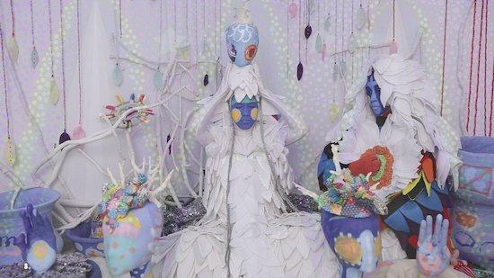 Saya Woolfalk, Chimera, 2013, digital video. © Saya Woolfalk, courtesy Leslie Tonkonow Artworks + Projects, New York